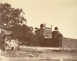 [Exterior of the] Lahore Gate of Palace, Delhi.